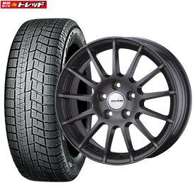 【取付対象】 【送料無料】新品タイヤ 4本セット Weds ウェッズ IRVINE アーヴィン F01 7.5J-18 +43 112 5H + ヨコハマ iceGUARD IG60 225/45R18 格安スタッドレス 国産