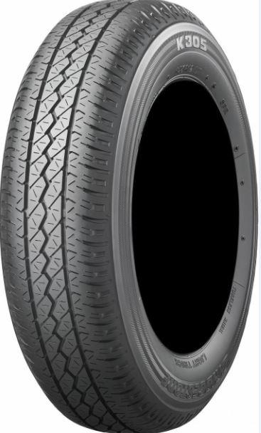 【小・中型トラック用タイヤ】145R12 6PR ブリヂストン K305