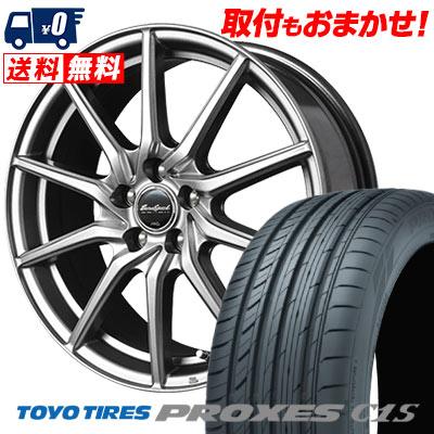 225/40R18 92W TOYO TIRES トーヨー タイヤ PROXES C1S プロクセスC1S EuroSpeed G810 ユーロスピード G810 サマータイヤホイール4本セット