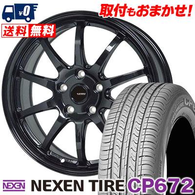 225/50R18 94V NEXEN ネクセン CP672 シーピー ロクナナニ G.speed G-04 Gスピード G-04 サマータイヤホイール4本セット
