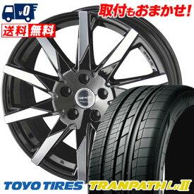 235/50R18 101W TOYO TIRES トーヨー タイヤ TRANPATH Lu2 トランパス Lu2 SMACK SFIDA スマック スフィーダ サマータイヤホイール4本セット