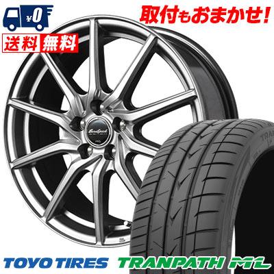 225/45R18 95W XL TOYO TIRES トーヨー タイヤ TRANPATH ML トランパスML EuroSpeed G810 ユーロスピード G810 サマータイヤホイール4本セット