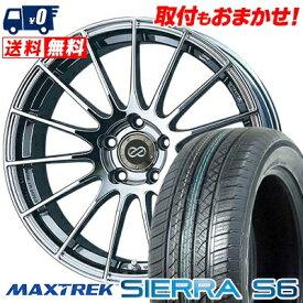 235/50R18 101V XL MAXTREK マックストレック SIERRA S6 シエラ エスロク ENKEI RS05 エンケイ RS05 サマータイヤホイール4本セット