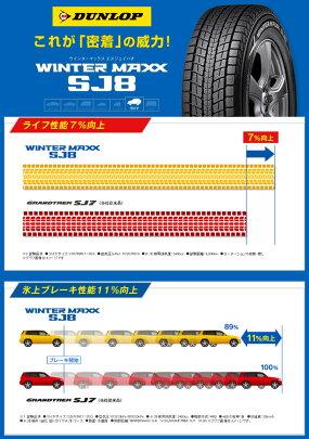 ウインターマックスSJ8215/65R1698QDUNLOPダンロップWINTERMAXXSJ8冬スタッドレスタイヤ単品1本価格《2本以上ご購入で送料無料》