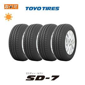 【取付対象】送料無料 SD-7 205/60R16 92H 4本セット 新品夏タイヤ トーヨータイヤ TOYO TIRES エスディーセブン