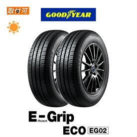 【MaxP25倍!!楽天スーパーSALE!!】【取付対象】送料無料 EfficientGrip ECO EG02 215/50R17 91V 2本セット 新品夏タイヤ グッドイヤー Goodyear エフィシェントグリップ エコ E-Grip イーグリップ