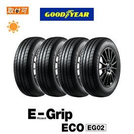 【MaxP25倍!!楽天スーパーSALE!!】【取付対象】送料無料 EfficientGrip ECO EG02 195/65R15 91H 4本セット 新品夏タイヤ グッドイヤー Goodyear エフィシェントグリップ エコ E-Grip イーグリップ