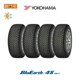 【取付対象】送料無料 BluEarth-4S AW21 185/65R15 88H 4本セット 新品オールシーズンタイヤ ヨコハマ YOKOHAMA ブルーアースフォーエス