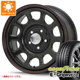 サマータイヤ 215/65R16 98H グッドイヤー エフィシエントグリップ RVF02 MLJ デイトナ SS 新型デリカD5対応 7.0-16 タイヤホイール4本セット