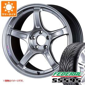 サマータイヤ 215/45R17 87V フェデラル SS595 SSR GTX03 7.0-17 タイヤホイール4本セット