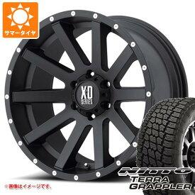 サマータイヤ 285/70R17 117S ニットー テラグラップラー KMC XD818 ヘイスト 8.0-17 タイヤホイール4本セット