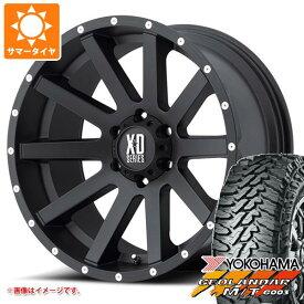 サマータイヤ 285/70R17 121/118Q ヨコハマ ジオランダー M/T G003 ブラックレター KMC XD818 ヘイスト 8.0-17 タイヤホイール4本セット