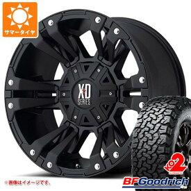 サマータイヤ 285/65R18 125/122R BFグッドリッチ オールテレーン T/A KO2 ホワイトレター KMC XD822 モンスター2 9.0-18 タイヤホイール4本セット