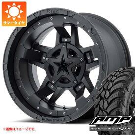サマータイヤ 285/70R17 10PR AMP マッドテレーンアタック M/T A KMC XD827 ロックスター3 8.0-17 タイヤホイール4本セット