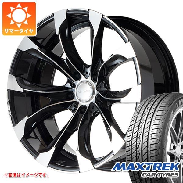 サマータイヤ 305/40R22 114V XL マックストレック フォルティス T5 ヴァルド ジャレット J11-C LX/ランクル200用 10.0-22 タイヤホイール4本セット
