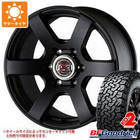 サマータイヤ 225/65R17 107/103S BFグッドリッチ オールテレーン T/A KO2 ブラックレター ドゥオール フェニーチェ クロス XC6 MBK 7.5-17 タイヤホイール4本セット