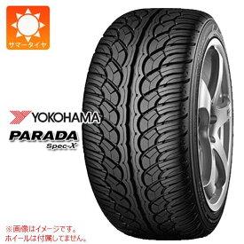 4本 サマータイヤ 265/30R22 97V REINF ヨコハマ パラダ スペック-X PA02 YOKOHAMA PARADA Spec-X PA02