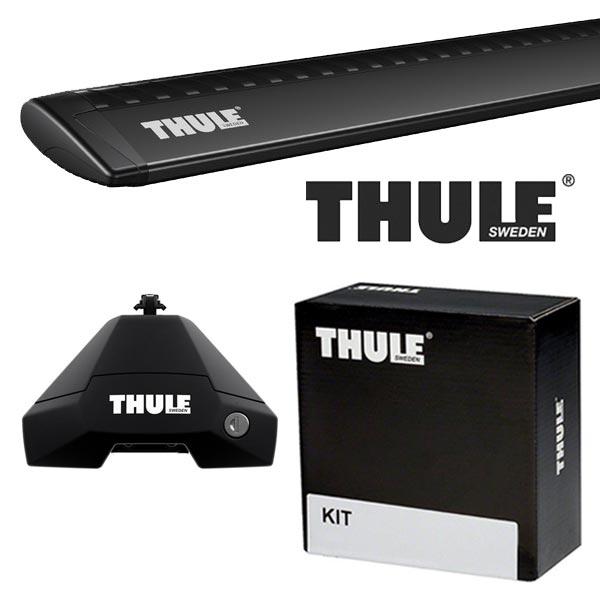 THULE スーリー フォルクスワーゲン ゴルフVII 5ドア AUC系 13〜 ルーフキャリア取付1台分セット TH7105+TH7113B+TH5010セット
