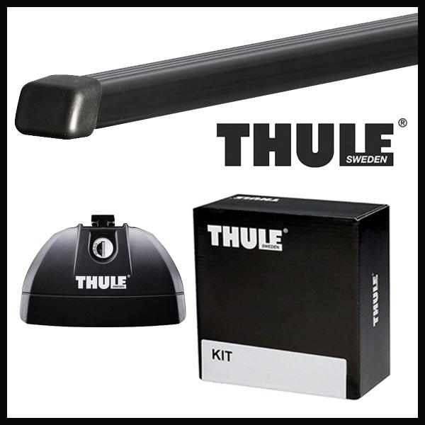 THULE スーリー マツダ CX-8 ダイレクトレール付 KG系 H29/12〜 ルーフキャリア取付セット TH753+TH7122+TH4096セット