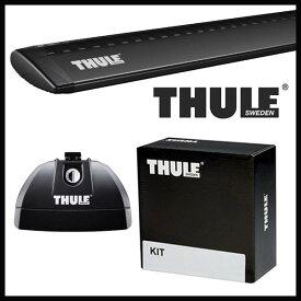 THULE スーリー フォード エクスプローラー ダイレクトルーフレール付 15〜 ルーフキャリア取付1台分セット TH753+TH7114B+TH3151セット