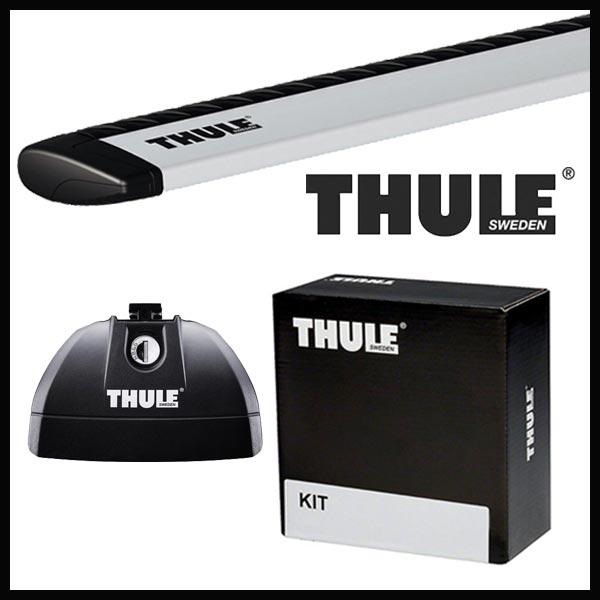 THULE スーリー スズキ エスクード ダイレクトレール付 YD125/YE125/YEA1S H29/10〜 ルーフキャリア取付セット TH753+TH961+TH4040セット