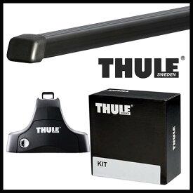 THULE スーリー スバル インプレッサG4 セダン GJ系 H23/12〜 ルーフキャリア取付1台分セット TH754+TH7124+TH1649セット