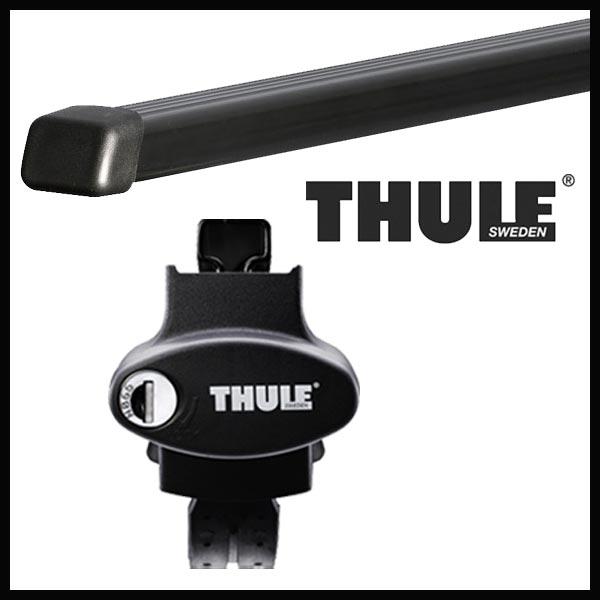 THULE スーリー BMW X3(E83)ルーフレール付 PA系 04〜 ルーフキャリア取付セット TH757+TH769セット