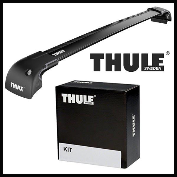 THULE スーリー スバル レガシィ・アウトバック ダイレクトルーフレール付 BS9 H26/10〜 ルーフキャリア取付セット TH9592B+TH4052