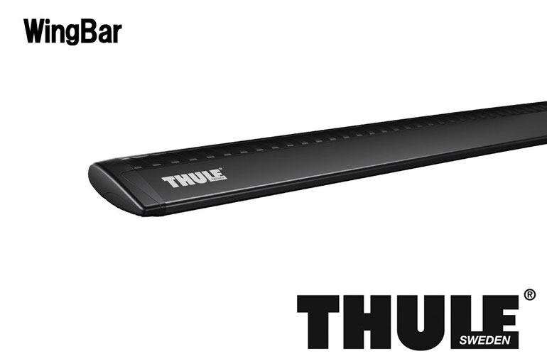 【スーパーセール 最大41倍!6/21 01:59迄】 THULE WingBar TH962B ブラック 135cm 2本セット スーリー ウィングバー ラピッドシステム専用