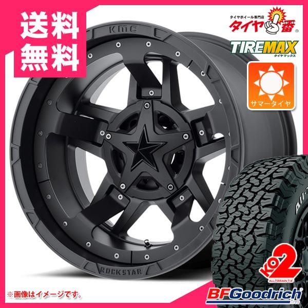 サマータイヤ 265/65R17 120/117S BFグッドリッチ オールテレーン T/A KO2 ホワイトレター KMC XD827 ロックスター3 8.0-17 タイヤホイール4本セット