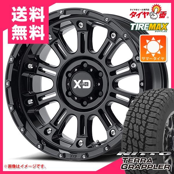サマータイヤ 265/50R20 111S XL ニットー テラグラップラー KMC XD829 ホス2 9.0-20 タイヤホイール4本セット