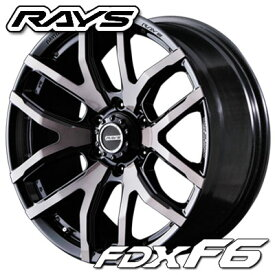 レイズ デイトナ FDX F6 8.5-20 ホイール1本 DAYTONA FDX F6