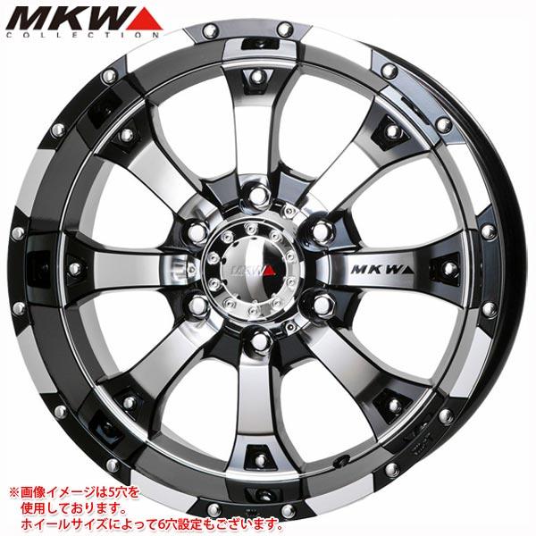 MKW MK-46 DCGB 8.0-17 ホイール1本 MK-46 Diacut Glossblack