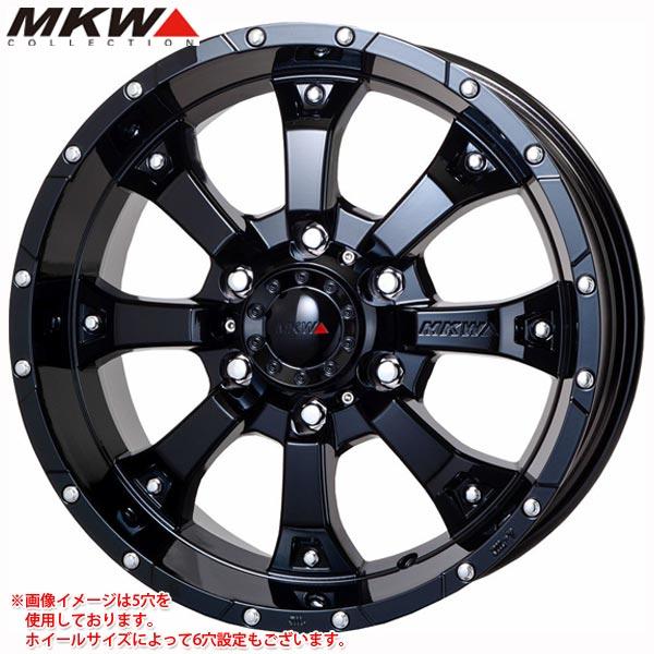 MKW MK-46 GB 7.5-17 ホイール1本 MK-46 Glossblack