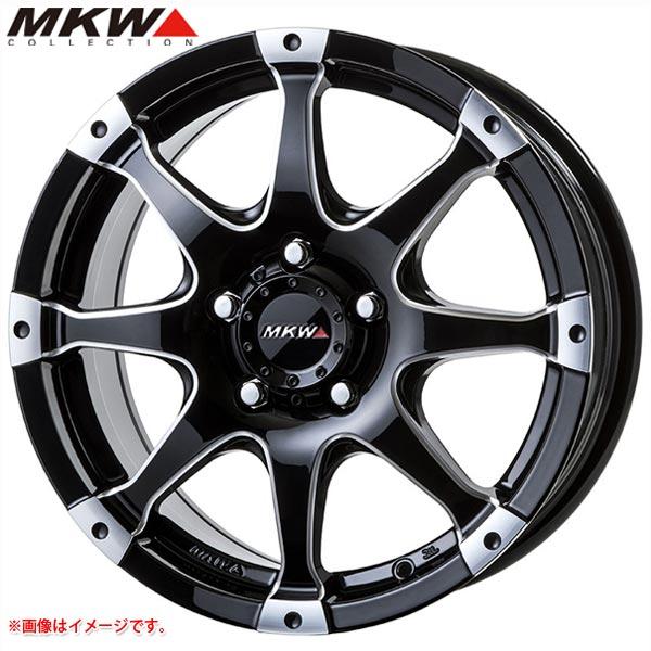 MKW MK-76 MMB 8.0-17 ホイール1本 MK-76 Milled MachineBlack