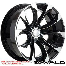 ヴァルド ジャレット J11-C 9.5-20 ホイール1本 WALD JARRET J11-C 150プラド用