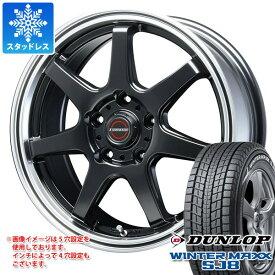 スタッドレスタイヤ ダンロップ ウインターマックス SJ8 215/60R17 96Q & ブレスト ユーロマジック タイプ S-07 7.5-17 タイヤホイール4本セット 215/60-17 DUNLOP WINTER MAXX SJ8