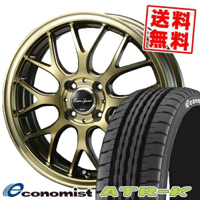 155/65R14EconomistATR-KエコノミストATR-KエーティーアールケーEouroSportType805ユーロスポーツタイプ805サマータイヤホイール4本セット