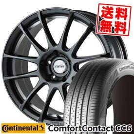 235/55R17 CONTINENTAL コンチネンタル ComfortContact CC6 コンフォートコンタクト CC6 5ZIGEN PRORACER Z1 5ジゲン プロレーサー Z1 サマータイヤホイール4本セット