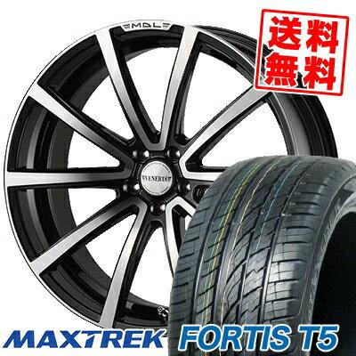 265/40R22 106V XL MAXTREK マックストレック FORTIS T5 フォルティス ティーファイブ VENERDi MADELENA LATINA ヴェネルディ マデリーナ ラティーナ サマータイヤホイール4本セット