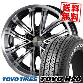 225/50R18 TOYO TIRES トーヨー タイヤ H20 H20 SILKBLAZE JEUNESSE シルクブレイズ ジュネス サマータイヤホイール4本セット for 200系ハイエース
