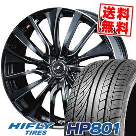 235/55R18 100V HIFLY ハイフライ HP801 HP801 weds LEONIS VT ウエッズ レオニス VT サマータイヤホイール4本セット【取付対象】