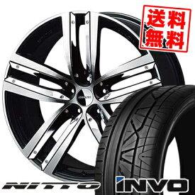 245/30R22 NITTO ニットー INVO インヴォ ESTATUS Style-ZTR エステイタス スタイルZTR サマータイヤホイール4本セット