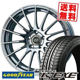 215/45R17 91W XL Goodyear グッドイヤー LS EXE LS エグゼ ENKEI RS05 エンケイ RS05 サマータイヤホイール4本セット