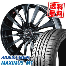 245/40R19 98W XL MAXTREK マックストレック MAXIMUS M1 マキシマス エムワン weds LEONIS VT ウエッズ レオニス VT サマータイヤホイール4本セット