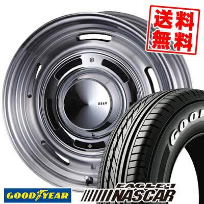 215/65R16 Goodyear グッドイヤー EAGLE #1 NASCAR イーグル #1 ナスカー DEAN CROSS COUNTRY ディーン クロスカントリー サマータイヤホイール4本セット for 200系ハイエース