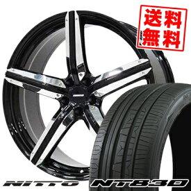 245/40R18 NITTO ニットー NT830 NT830 ESTATUS Style-CTR エステイタス スタイルCTR サマータイヤホイール4本セット