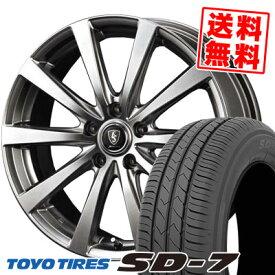 205/65R15 94H TOYO TIRES トーヨー タイヤ SD-7 エスディーセブン Euro Speed G10 ユーロスピード G10 サマータイヤホイール4本セット