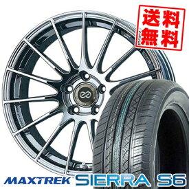 235/60R18 103H MAXTREK マックストレック SIERRA S6 シエラ エスロク ENKEI RS05 エンケイ RS05 サマータイヤホイール4本セット