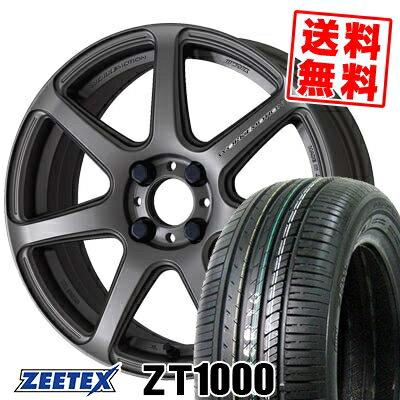 195/45R16 84V XL ZEETEX ジーテックス ZT1000 ZT1000 WORK EMOTION T7R ワーク エモーション T7R サマータイヤホイール4本セット